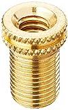 Topeak Dunlop - Válvula adaptadora para Floor Pump - Piezas de Repuesto - Bomba Adulta Unisex, Color Negro, Talla única