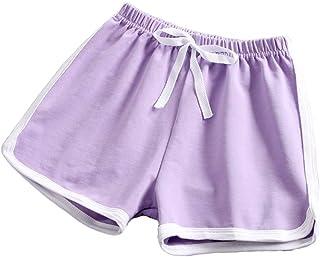 taitaibaby Girls Shorts Toddler Kids Running Shorts Summer Sport Casual Short Pants, 3-10 Years