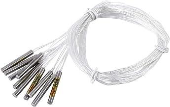 Sonda de sensor impermeable del controlador de temperatura, 10 pcs. Sonda de sensor PT100 para interruptor de control de temperatura