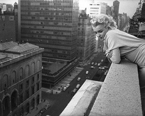 Eddy's Entertainment Marilyn Monroe 1955 Ambassador Hotel New York City 8x10 Silver Halide Archival Quality Reproduction Photo Print