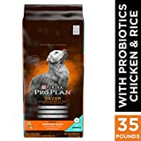 Purina Pro Plan With Probiotics Dry Dog Food,...