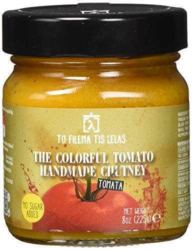 To Filema Tis Lelas Handgemachtes Tomaten Chutney- The Colorful Tomato 225 g, 2er Pack