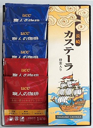 長崎カステラとUCC職人の珈琲ドリップセット