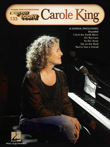 Carole King: For Organs, Pianos & Electric Keyboards