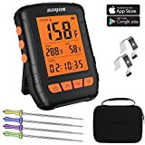 Best Bluetooth Meat Thermometers - BOYON Meat Thermometer Waterproof, APP Controlled Bluetooth Thermometer Review