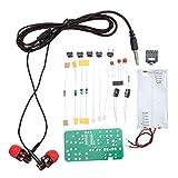 JCCOZ - URG - Kit de radio estéreo FM para manualidades, kit de práctica URG (color: 2)