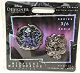 Ursula Midnight Masquerade Disney Designer pins Set Limited Edition 3 of 6