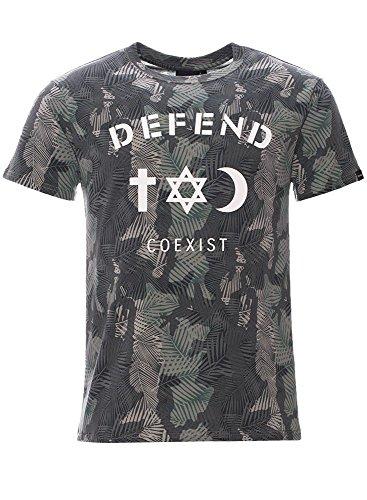 DEFEND PARIS T-Shirt - Grün S