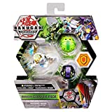 Bakugan Starter Pack 3-Pack, Fused Haos Aurelus Hydorous x Trhyno Ultra, Armored Alliance Collectible Action Figures
