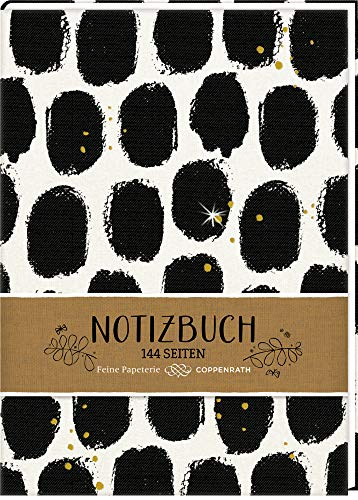 Notizbuch - Blätter (All about black & white)