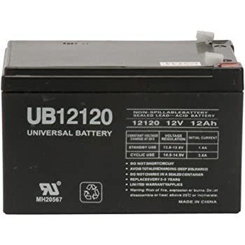 12V Charger Brand Product Mighty Max Battery 12V 12AH Replaces Smart-UPS Back-UPS 620 SU620NET RBC4