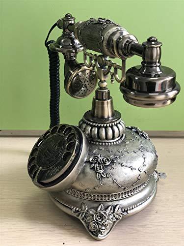 DHFDHD Teléfono Antiguo Teléfono rotatorio del dial de teléfono Casa Móviles for el hogar y decoración Retro Teléfono Antiguo de la Vendimia