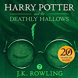Page de couverture de Harry Potter and the Deathly Hallows, Book 7