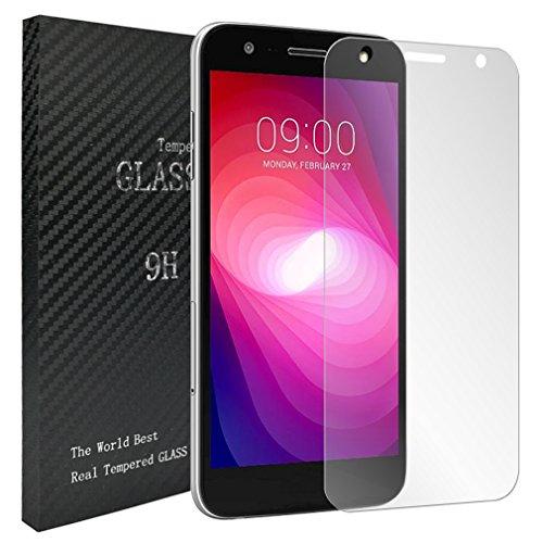 Laybomo für LG X power2 Schutzfolie 9H Festigkeit Tempered Glass Bildschirmschutzfolie 99prozent Ultra-klar Panzerglas Folie Schutzfolie