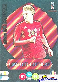 Kevin De Bruyne Belgium 2018 Panini Adrenalyn XL WORLD CUP RUSSIA EXCLUSIVE LIMITED EDITION Card! Awesome Special Great Looking Card Imported from Europe! Shipped in Ultra Pro Top Loader! WOWZZER!