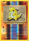 Pokemon - Sandshrew (54/108) - XY Evolutions - Reverse Holo