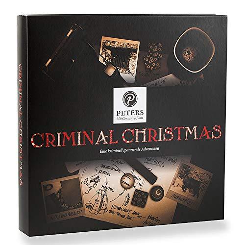 Peters Adventskalender 'Criminal Christmas', 1er Pack (1 x 225 g) Ein ganz besonderes Geschenk für die Adventszeit