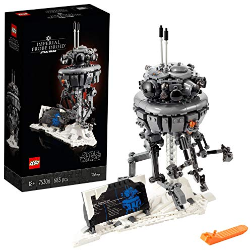 LEGO75306StarWarsDroideSondaImperial, SetdeConstrucción,ManualidadesparaAdultos,ModelodeColeccionista