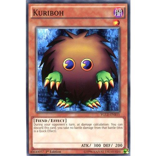 YuGiOh : YGLD-ENB15 1st Ed Kuriboh Common Card - ( Yu-Gi-Oh! Single Card )