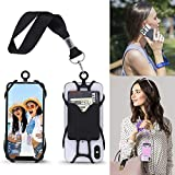Cell Phone Wrist Strap Mobile Phone Holder Wristlet with Card Pocket Compatible...