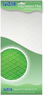 PME IM184 Tapis à Motif Petits Losanges, Plastique, Transparent, 15 x 1 x 30,5 cm
