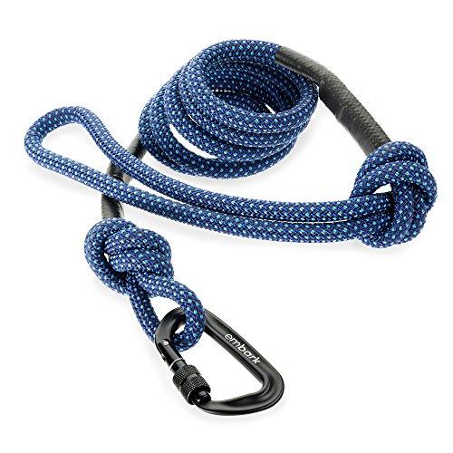 Laisse pour chien Embark Pet Sierra avec corde de montagne et mousqueton