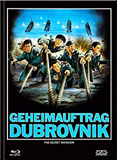Geheimauftrag Dubrovnik - The Secret Invasion [Blu-Ray+DVD] - uncut - limitiertes Mediabook Cover A