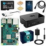 LABISTS Raspberry Pi 3 Model b+ ラズベリーパイ 3 b+ MicroSDHCカード32G/NOOBSシステムプリインストール/カードリーダ /5V/3A スイッチ付電源/高品質HDMIケーブルライン/ヒートシンク/簡単に取り付けケース/日本語取扱説明書/24ヶ月保証