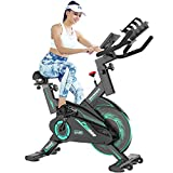 L NOW Exercise Bike Indoor Cycling Bike Belt Drive Smooth...