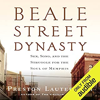 Beale Street Dynasty audiobook cover art