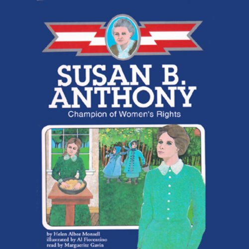 Susan B. Anthony audiobook cover art