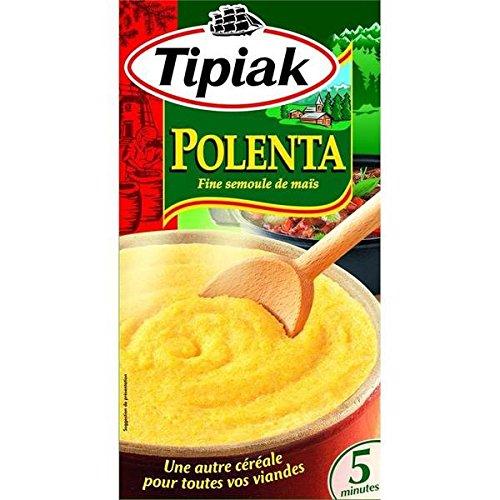 Tipiak Grieß Polenta Mais 2x250g - ( Einzelpreis ) - Tipiak polenta semoule de maïs 2x250g