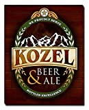 ZuWEE Kozel Beer & Ale Gallery Wrapped Personalized Canvas Print