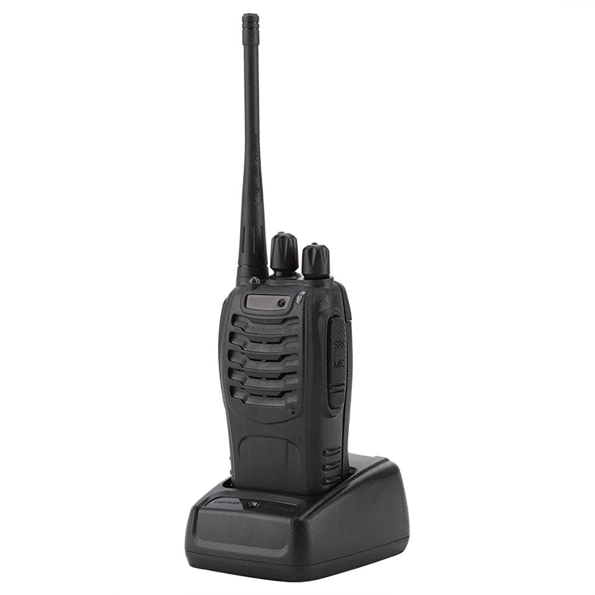 Walkie Talkie,with Rechargeable Battery Long Range 16 Channels Two Way Radio US Plug AC110-220V BF-888S