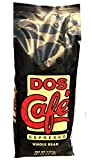 CUBAN COFFE. DOS CAFE ESPRESSO (ESPRESSO WHOLE BEAN 2.5 LBS)