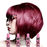 X4 Renbow Crazy Color Conditioning Hair Colour Cream 100ml - Cyclamen by Renbow