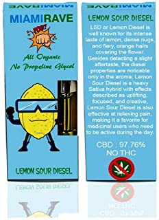 Hemp Oil Lemon Man Lemon Sour Diesel 1,000 MG Extra Strength