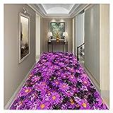 CnCnCn 廊下のカーペットランナーカスタムサイズエントランスドアマット滑り止め防音床のマットソフトファブリックエリアの敷物 (Color : A, Size : 60x150cm)