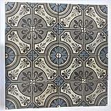 KEREN STONE French Vintage Blue Flower Tiles, backsplash for The...