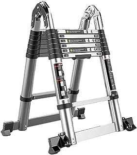 Step Stool HTTTD Step Stool, Telescopic Ladder, Modern Minimalist Ladder Straight Ladder, Aluminum Folding Ladder, Safety ...