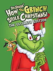The Grinch is one of the Classic Christmas Movies for Kids