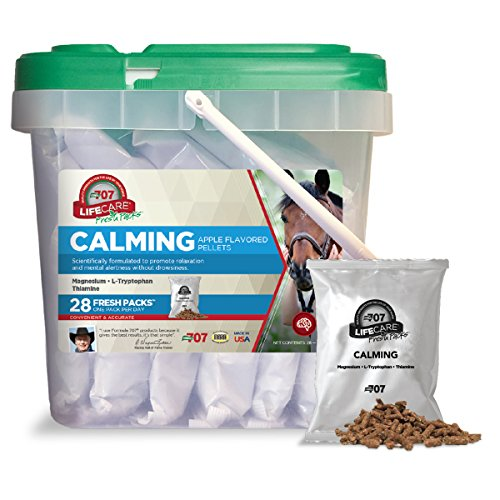 Formula 707 Calming Equine Supplement, Daily Fresh Packs, 28 Day Supply - L-Tryptophan