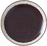 TREEECFCST Servizio di Piatti Antiaderente Pizza Vassoio, Brown, 26 X 2,5 Centimetri Porcellana e Ceramica (Colore : Brown, Taglia : 26 * 2.5cm)