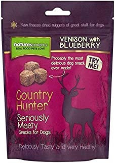 natures menu venison and blueberry