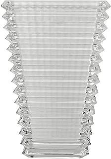 Baccarat Crystal Small Rectangular Eye Vase - White