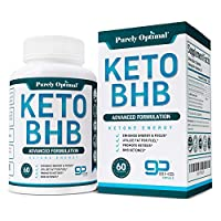 Premium Keto Diet Pills - Utilize Fat for Energy with Ketosis - Boost Energy & Focus - BHB Ketogenic Supplements for Women and Men - 30 Day Supply by Purely Optimal Nutrition Inc.