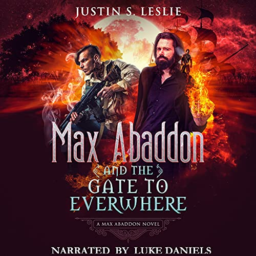 Max Abaddon and the Gate to Everwhere cover art