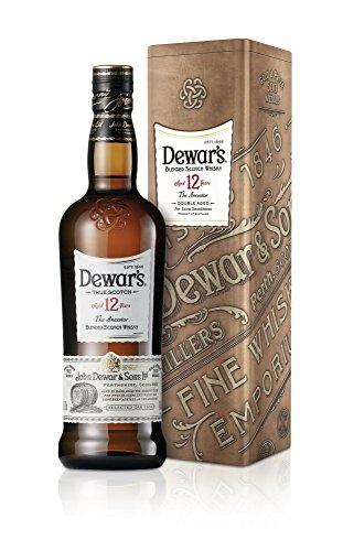 DEWAR'S Scotch 12 Years, Blended Scotch Whisky 40% Vol. in Geschenkverpackung