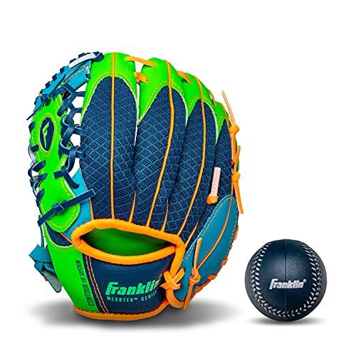 Franklin Sports Kids Baseball Gloves - Meshtek Child's Tball Glove + Ball...