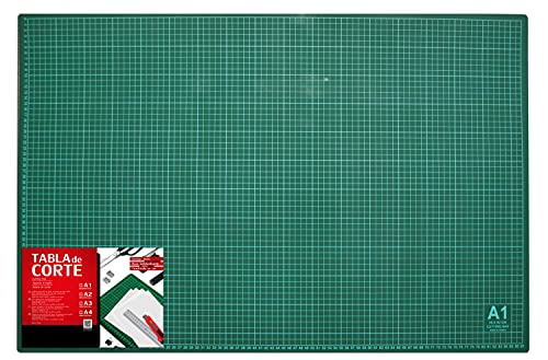 Base de Corte Autocicatricante Patchwork - Cutting Mat de 5 capas para Costura y Manualidades ( TAMAÑO A1 - 84,1 x 59,4 cm)